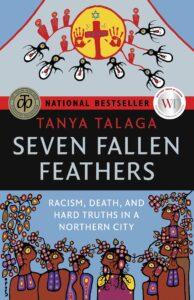 book ocver seven fallen feathers