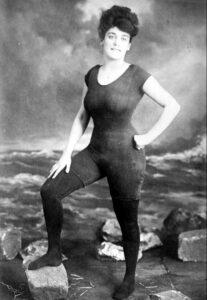 Annette Kellerman in bathing suit