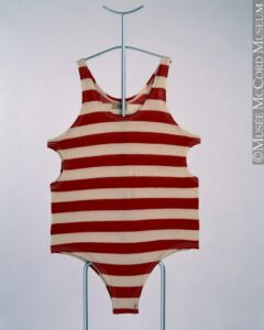 striped bathing suit 1920